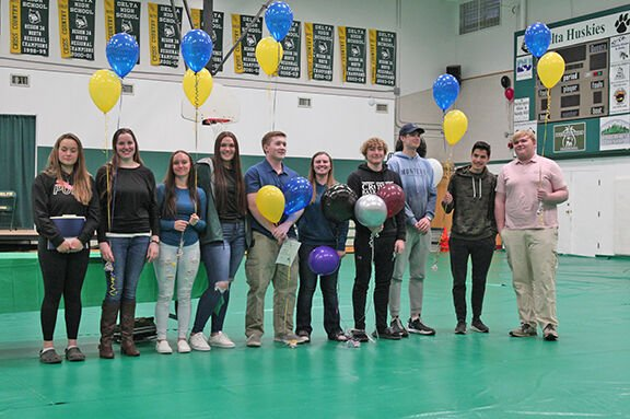 Seniors accepted to universities