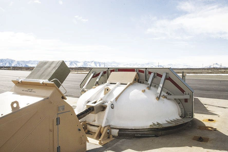 A look inside the missile defense complex at Fort Greely