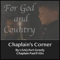 Fort Greely Chaplain's Corner