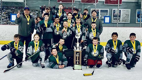 10U Hockey state champs