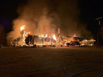 Fire destroys clearwater lodge