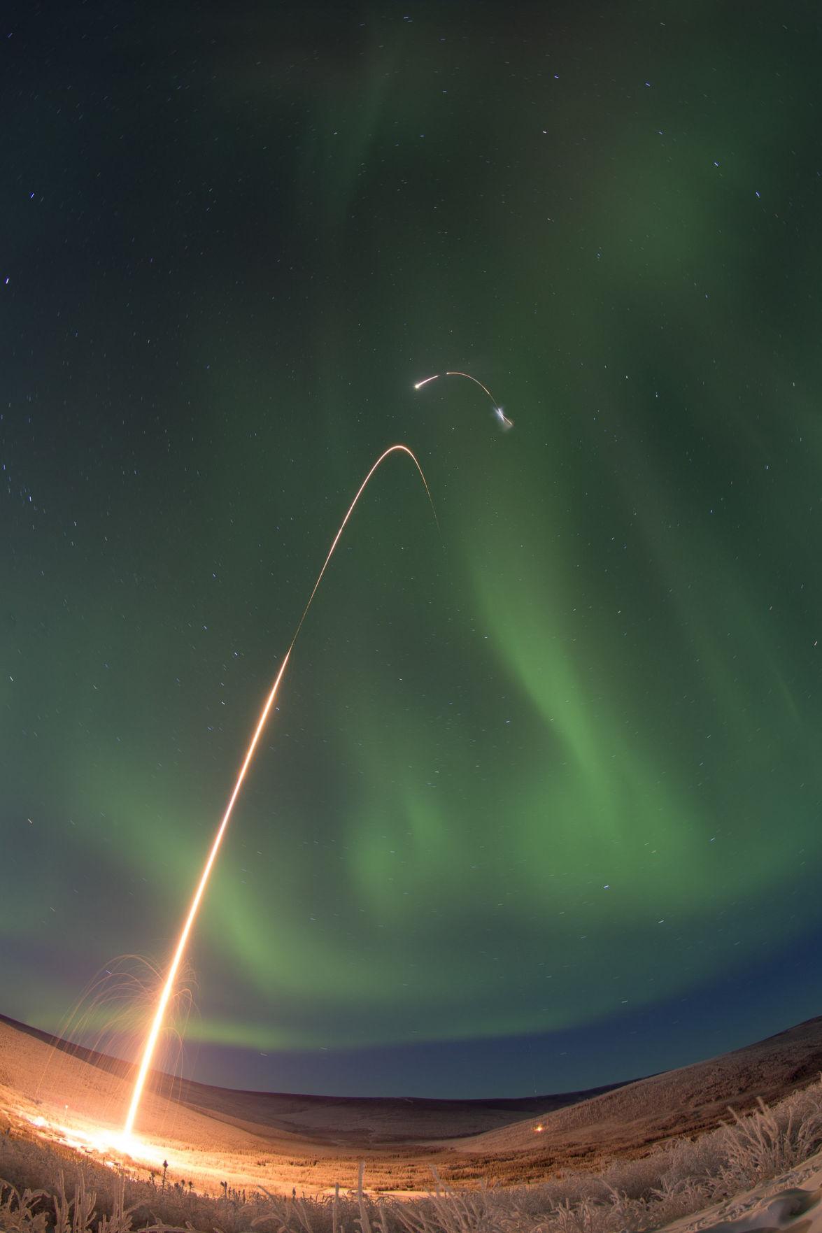 January 2015 rocket launch