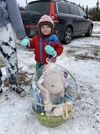 Easter Egg Hunt Winner