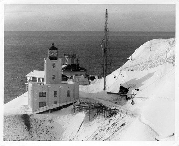 Scotch Cap Lighthouse April 01, 1946 Unimak Island