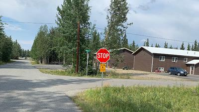 New Four-Way Stop