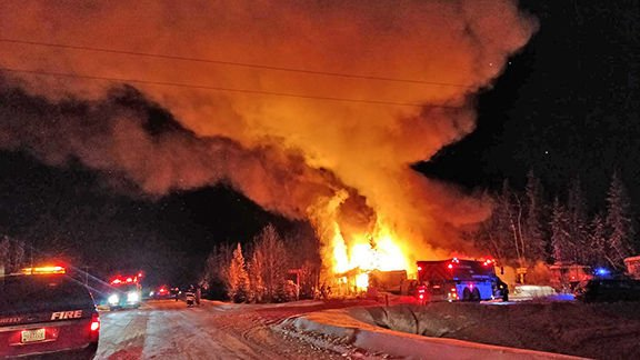 Souhrada Road House and Shop Fire