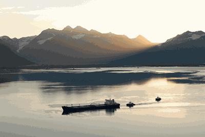 Tanker in Prince William Sound