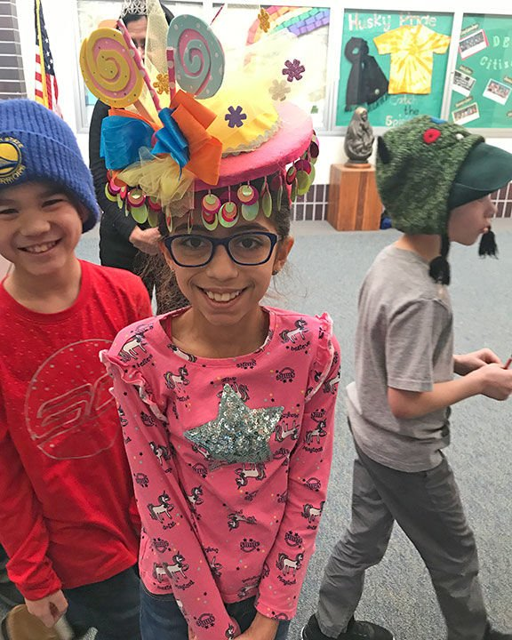 Delta Elementary School Crazy Hat Day 2019