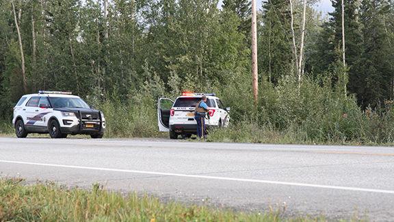 Trooper Behind Vehicle
