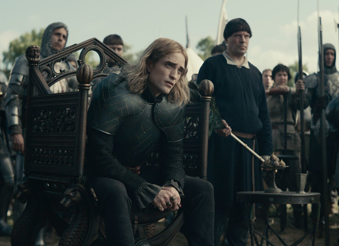 Pattinson in The King