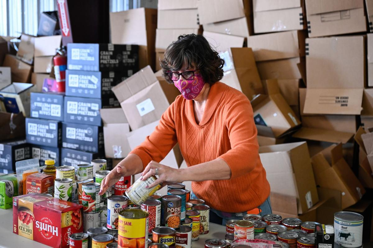 Organizing canned food items