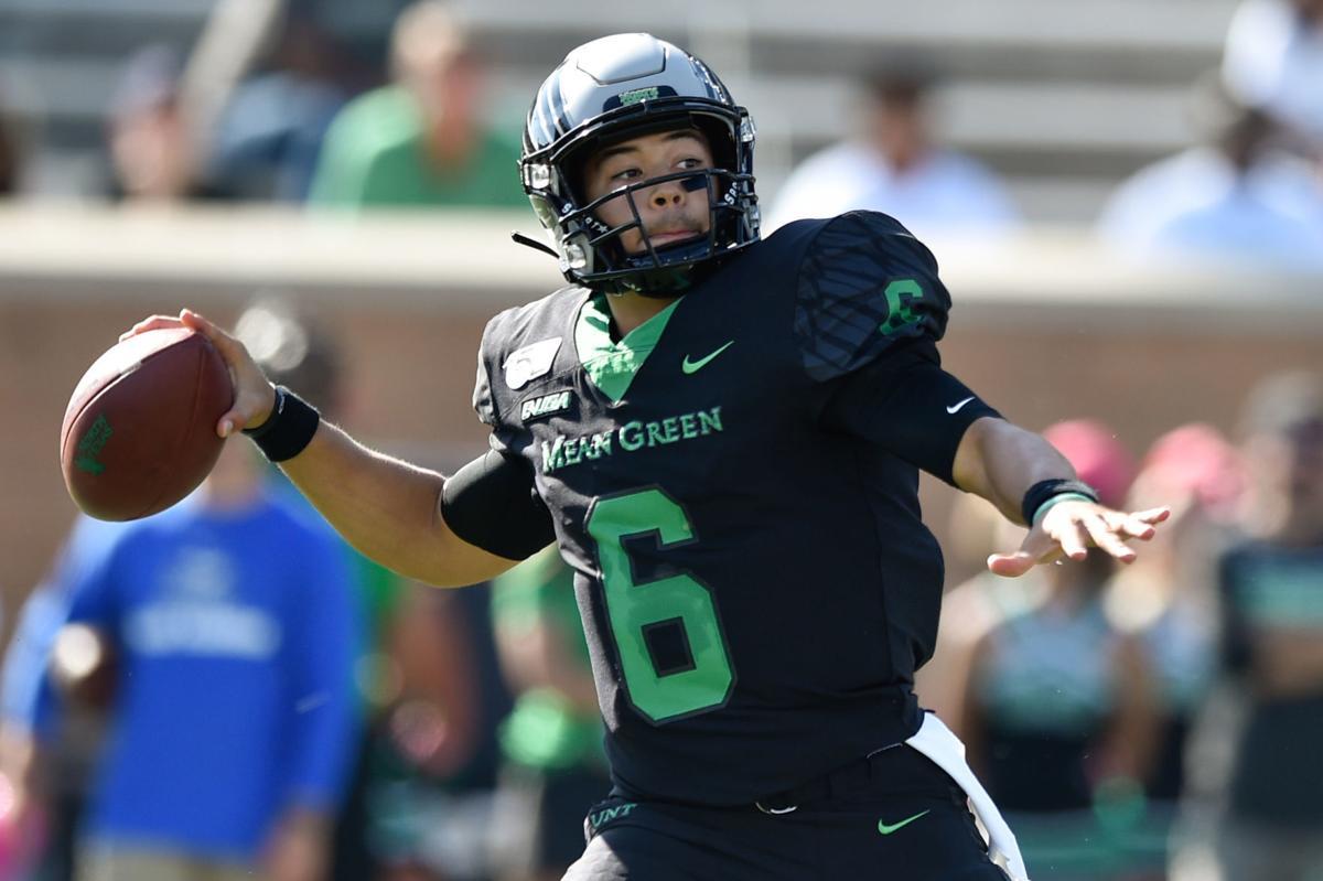 UNT quarterback Mason Fine