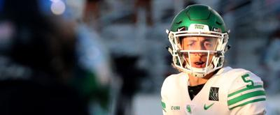 North Texas quarterback Jason Bean