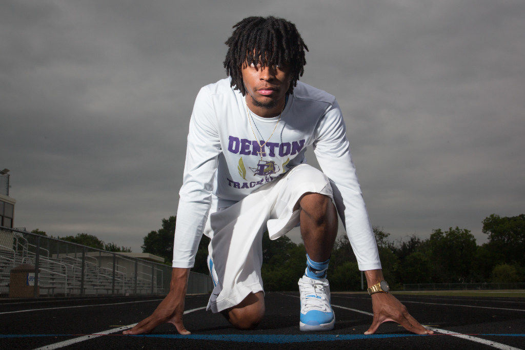 Denton's Douglas commits to UNT's track and field team