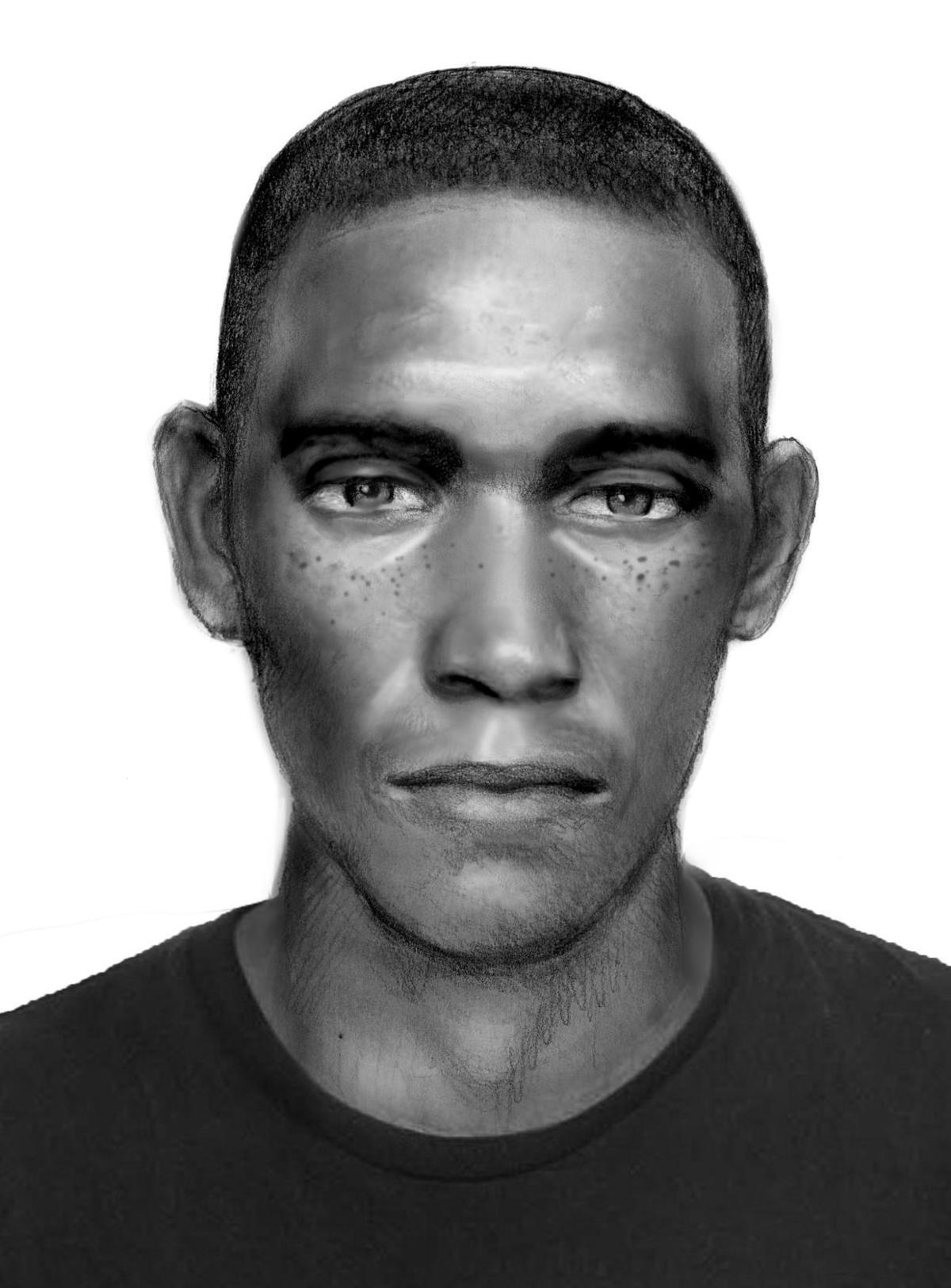 Denton police suspect sketch