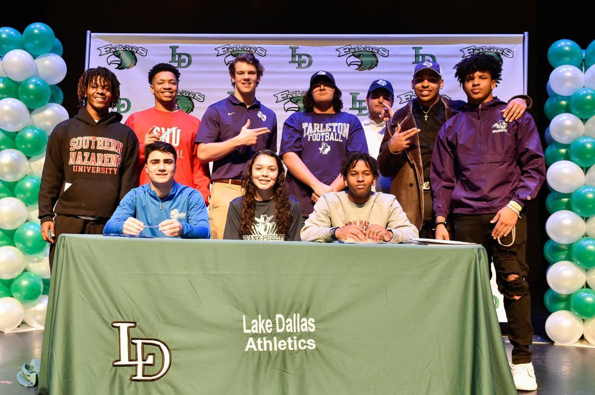 Lake Dallas Signing Day