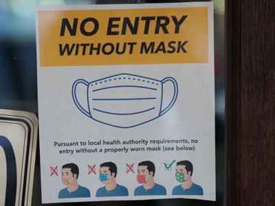 Masks sign