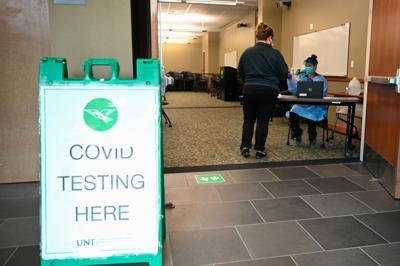 UNT COVID testing