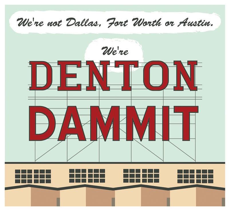 We're Denton Dammit logo