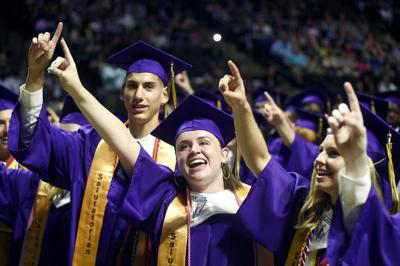 Denton High graduation