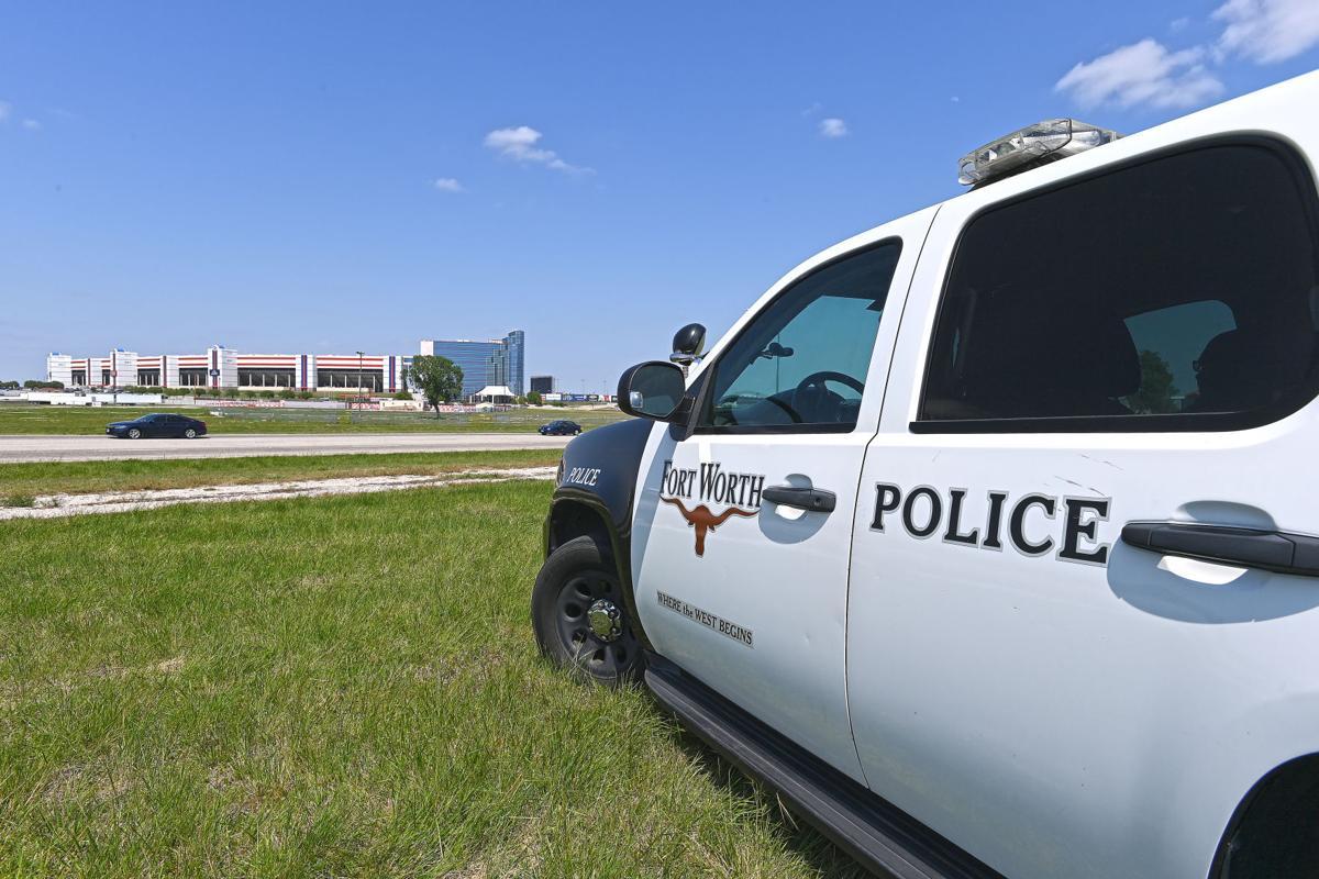 Fort Worth Police patrol car