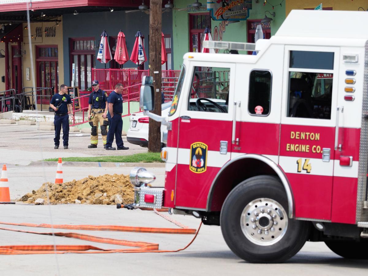 Gas Leak Disrupts Services Downtown Denton Dentonrc Com