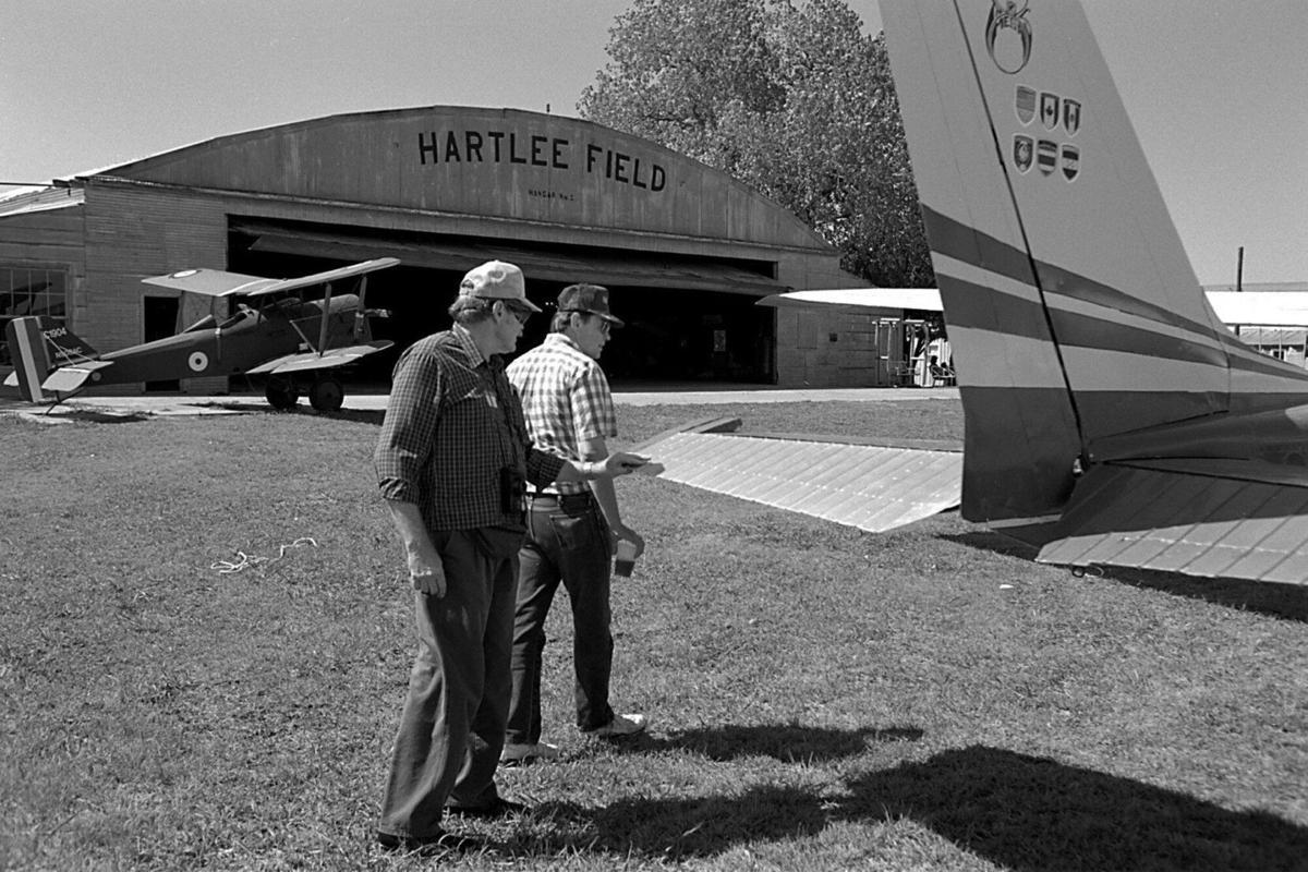 Hartlee Field in 1993