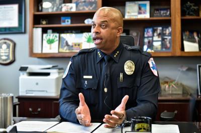 Police Chief Frank Dixon
