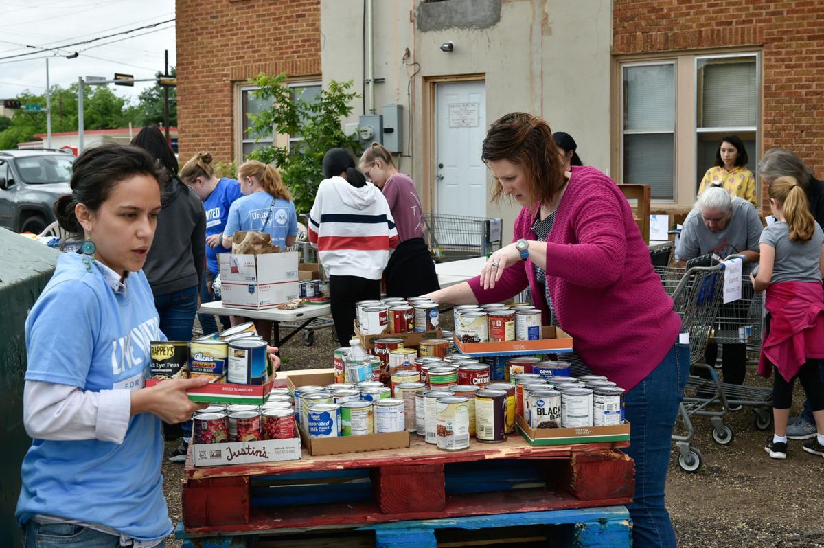 Sorting donations