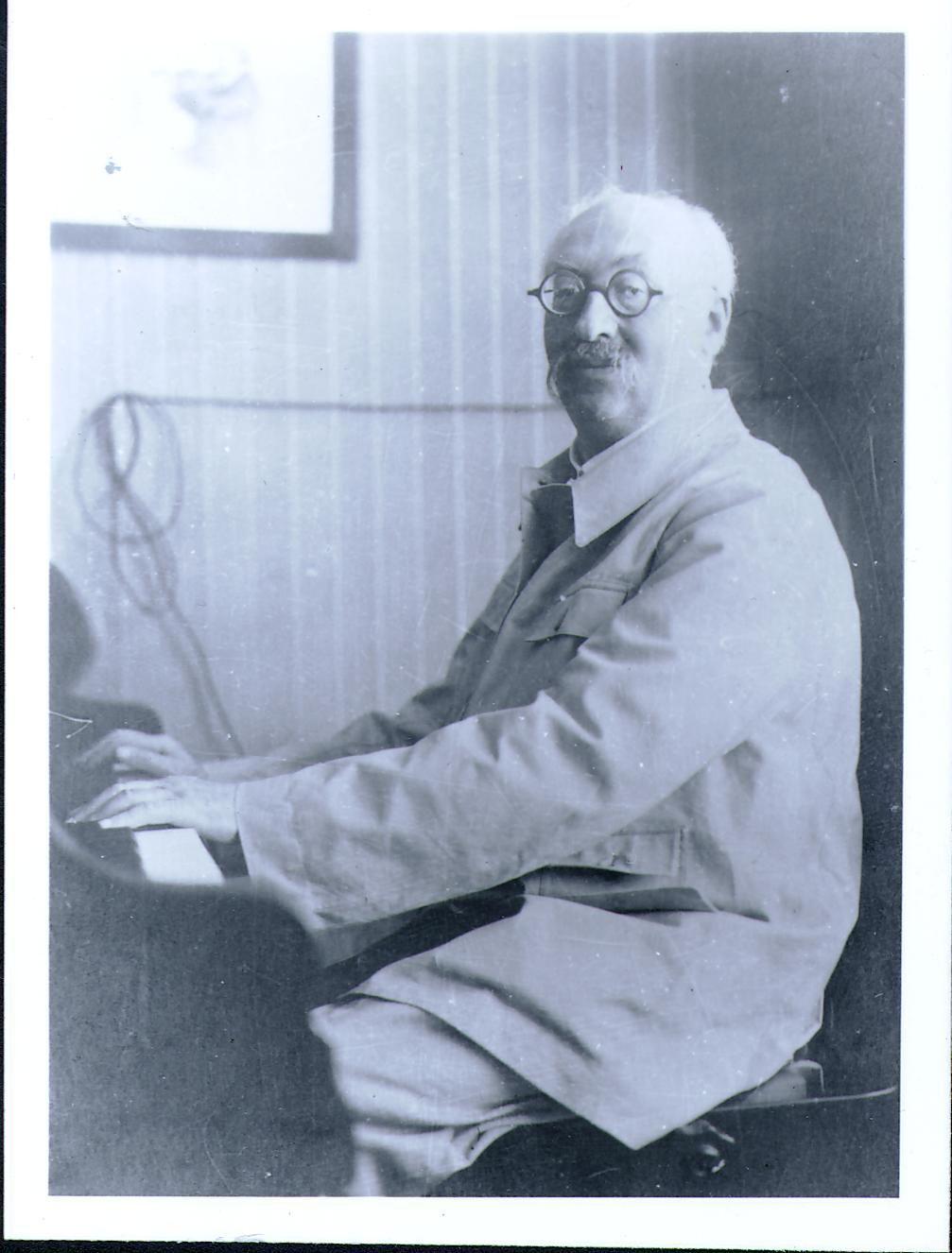 Music theorist Heinrich Schenker