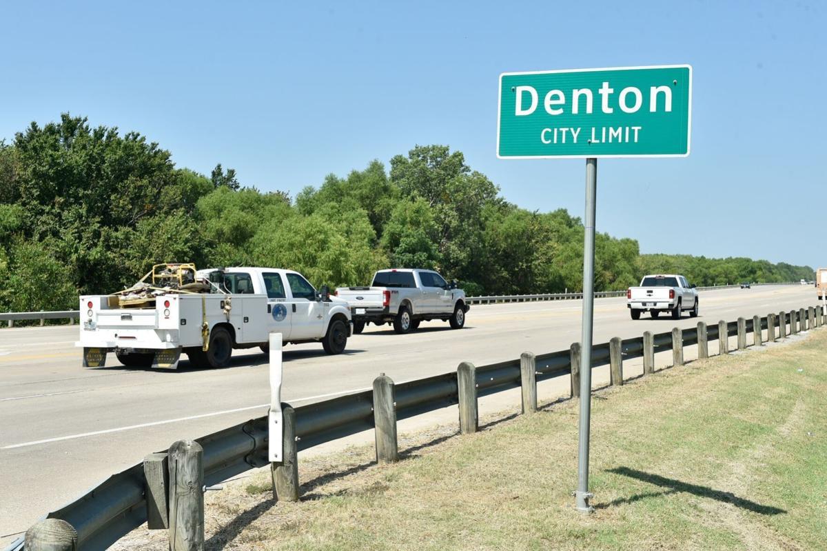 Denton city limits