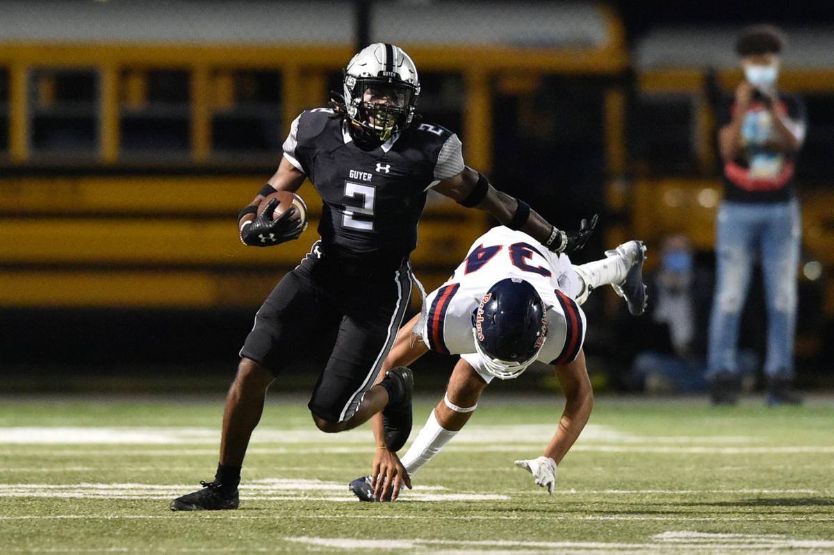 Guyer defensive back Deuce Harmon