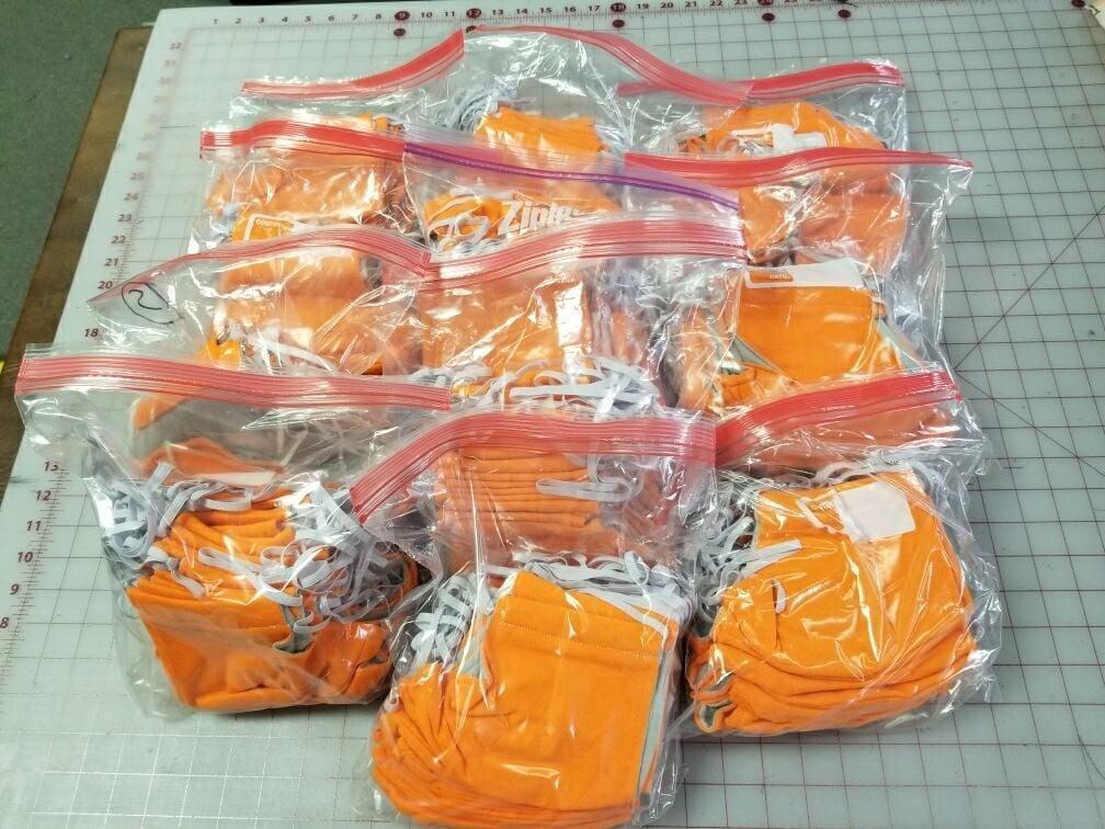 Masks for Denton County Jail inmates