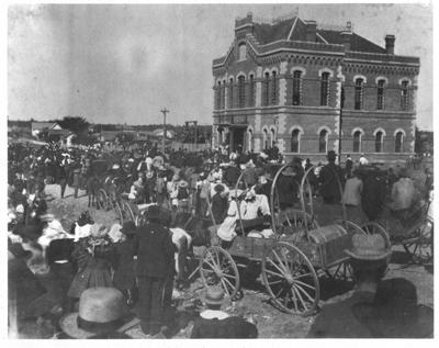 Denton County Jail, in 1895