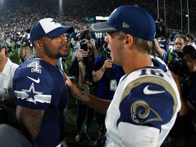 Goff, Prescott meet after wildly different rookie seasons