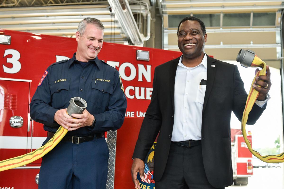 Mayor, visitors explore Fire Station 3