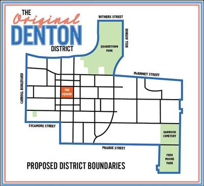 Cultural district map