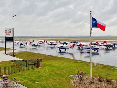 Civil Air Service planes, US Aviation Academy