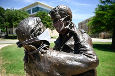 A historic pandemic, Confederate statue, Floyd protests among top stories for 2020