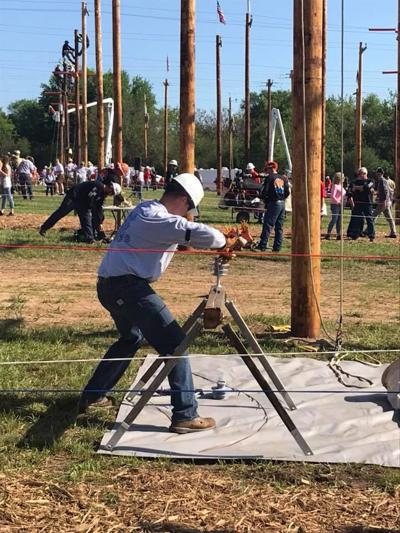 DME at 2018 Public Power Lineworkers Rodeo