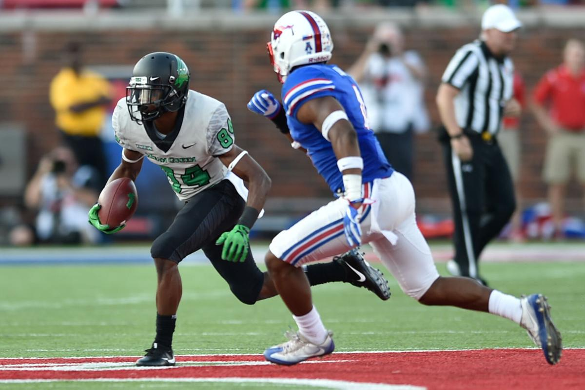 Darden finished with 154 all-purpose yards in a loss to SMU in 2017
