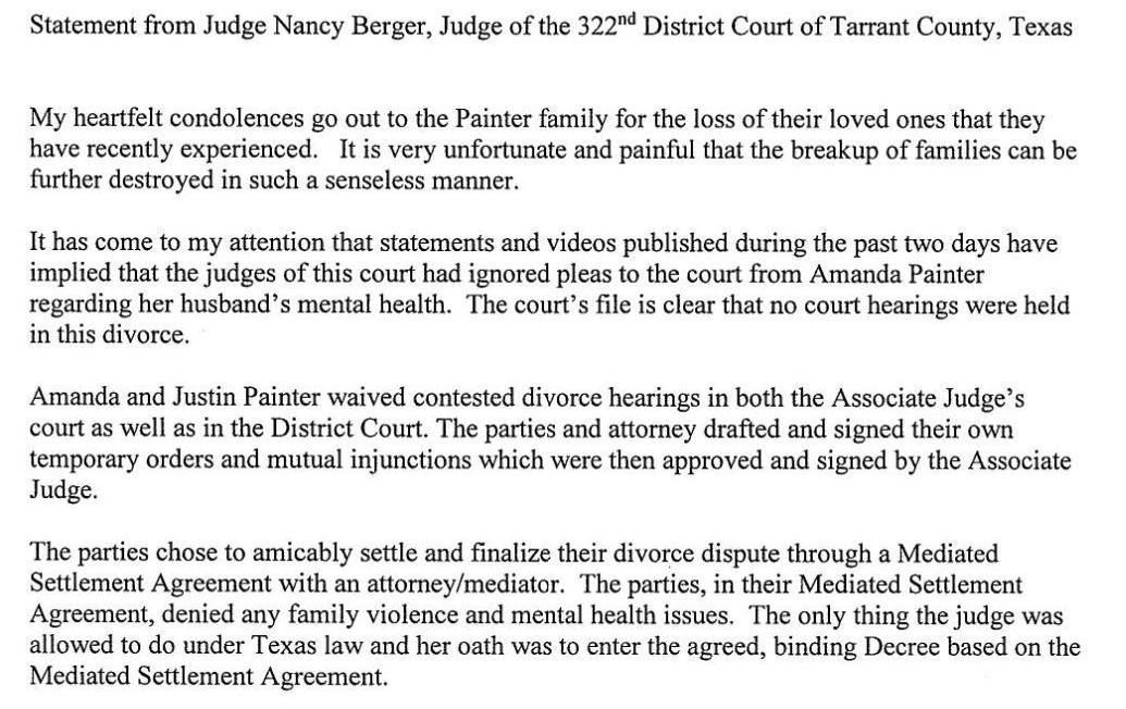 Tarrant County Judge Denies Claim That Court Ignored Possible Mental