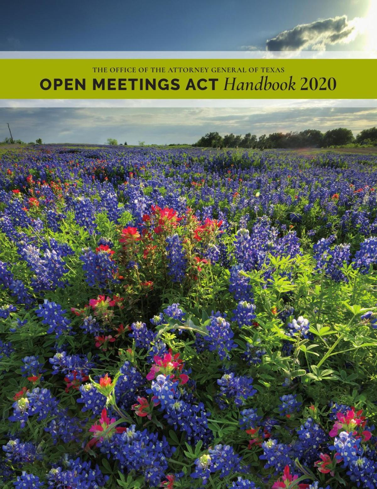 Texas Open Meetings Act