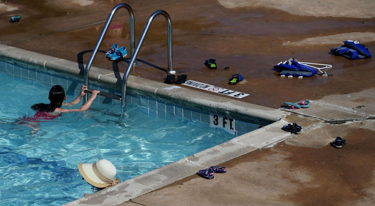Lake Highlands North Recreation Center swimming pool in Dallas