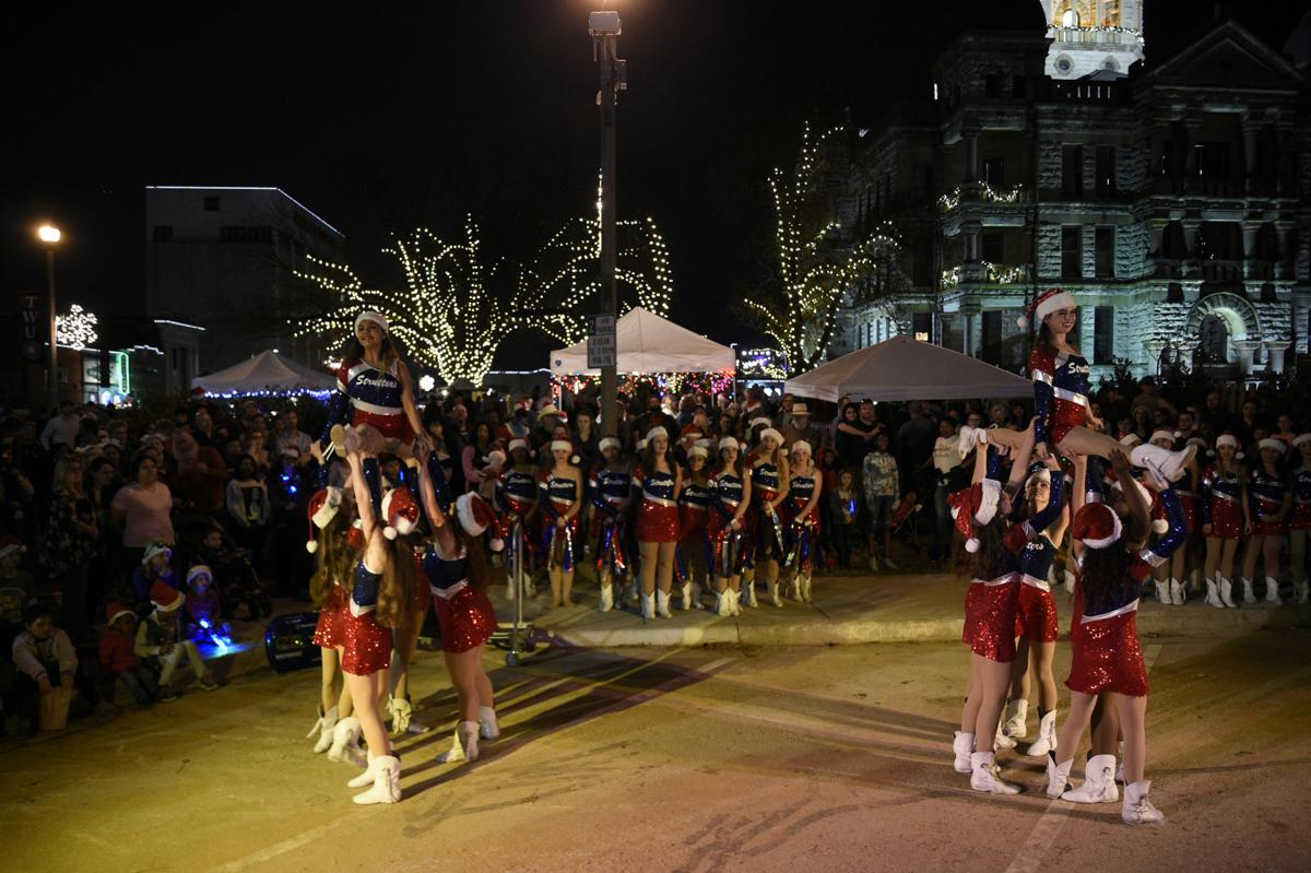 Strutters performing