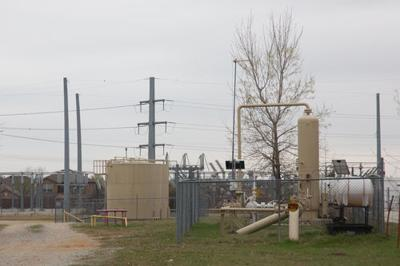 A gas well in southern Denton