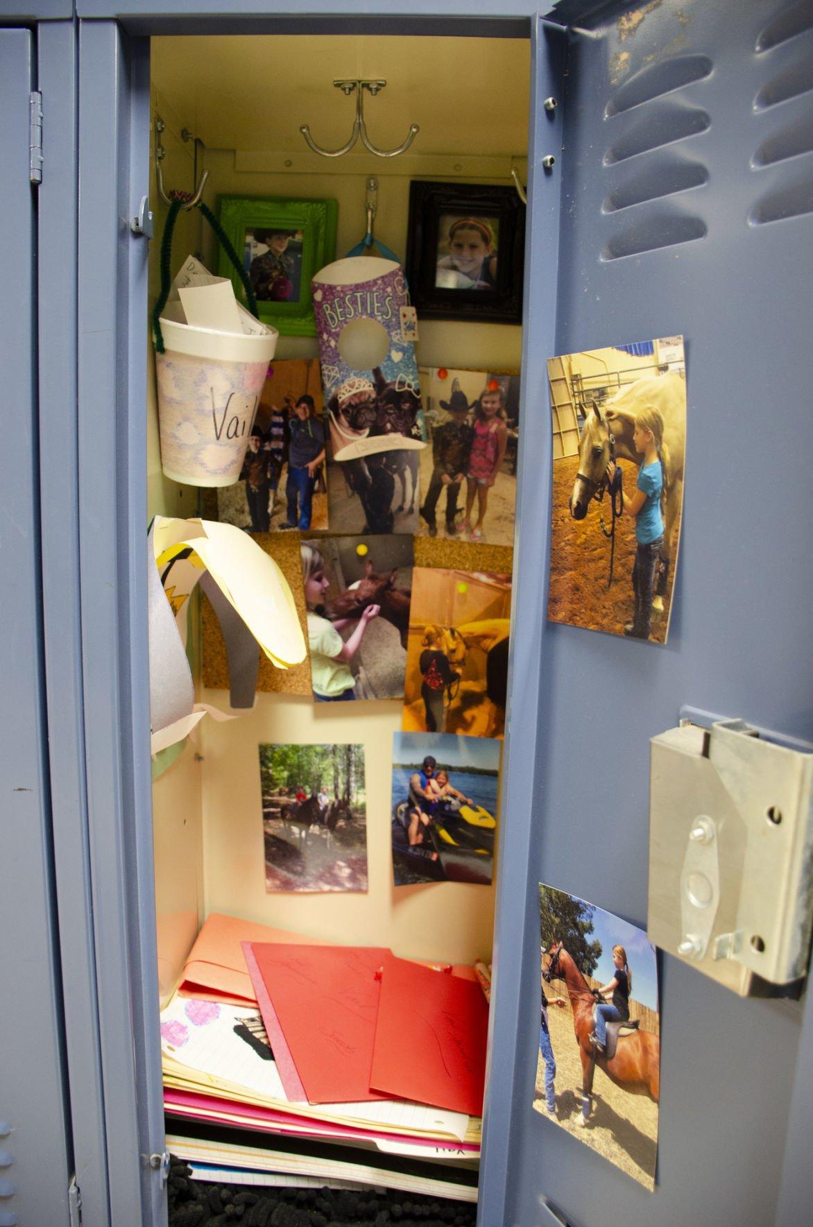 Vail Johnson's locker