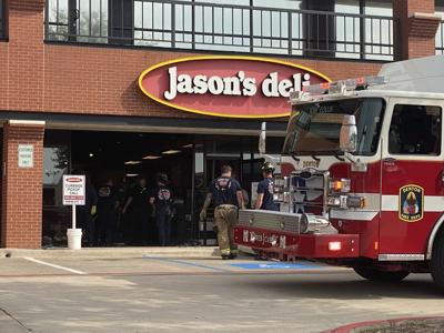 Car drives into Jason's Deli