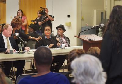 Confederate meeting at MLK Jr. Rec Center
