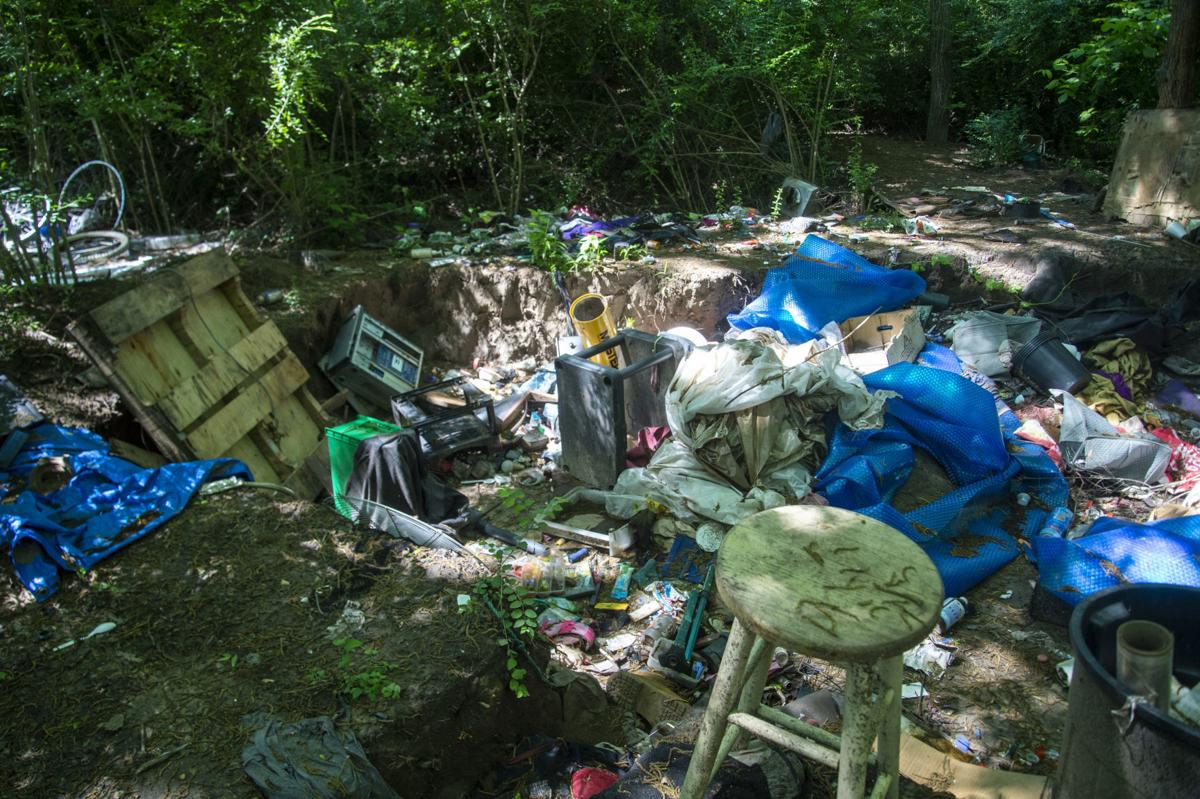 Denton homeless camp